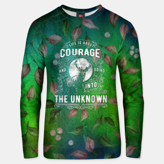 Miniaturka Life is about Courage –  Unisex sweater, Live Heroes