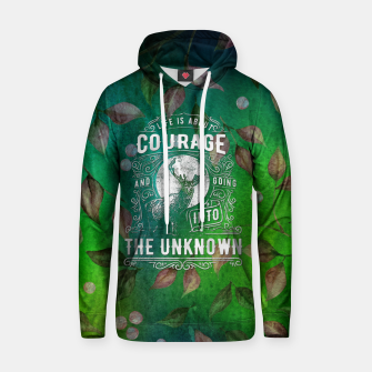 Miniaturka Life is about Courage –  Hoodie, Live Heroes
