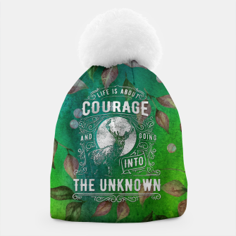 Miniaturka Life is about Courage –  Beanie, Live Heroes