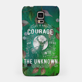 Miniaturka Life is about Courage –  Samsung Case, Live Heroes