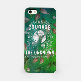 Miniaturka Life is about Courage –  iPhone Case, Live Heroes