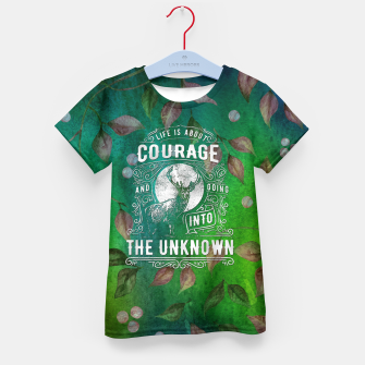 Miniaturka Life is about Courage –  Kid's t-shirt, Live Heroes