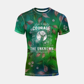 Miniaturka Life is about Courage –  Shortsleeve rashguard, Live Heroes