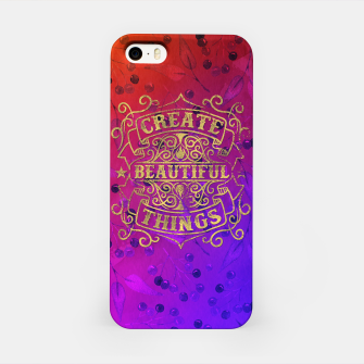 Miniaturka Create Beautiful Things –  iPhone Case, Live Heroes