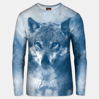 Miniaturka Wolf and Snow Unisex sweater, Live Heroes