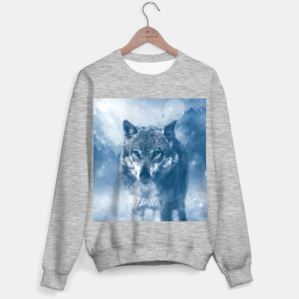 Miniatur Wolf and Snow Sweater regular, Live Heroes