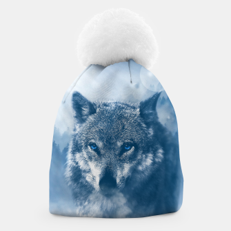 Miniaturka Wolf and Snow Beanie, Live Heroes
