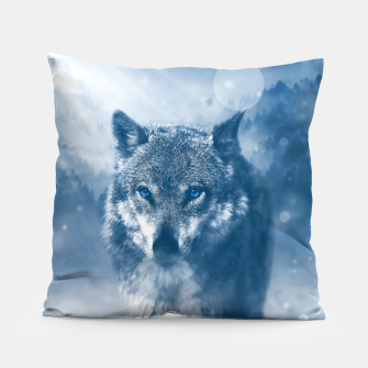 Miniatur Wolf and Snow Pillow, Live Heroes