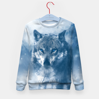 Miniatur Wolf and Snow Kid's sweater, Live Heroes