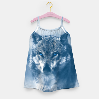Miniatur Wolf and Snow Girl's dress, Live Heroes