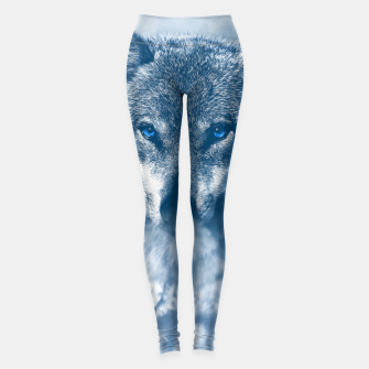 Miniatur Wolf and Snow Leggings, Live Heroes