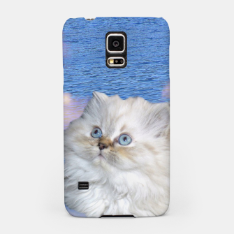 Thumbnail image of Cat and Water Samsung Case, Live Heroes