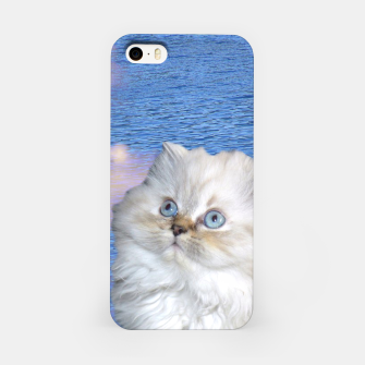 Thumbnail image of Cat and Water iPhone Case, Live Heroes
