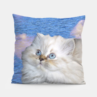 Thumbnail image of Cat and Water Pillow, Live Heroes