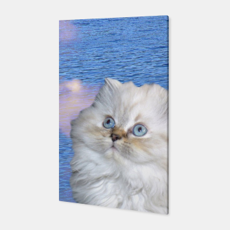 Thumbnail image of Cat and Water Canvas, Live Heroes