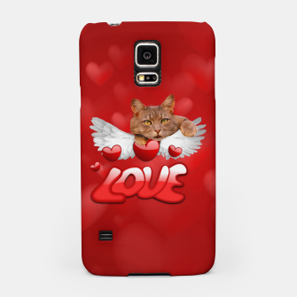 Thumbnail image of Cat Love and Hearts Samsung Case, Live Heroes