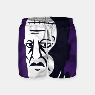 Thumbnail image of Frankenstein Swim Shorts, Live Heroes