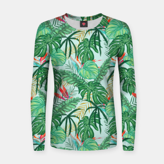 Miniatur The Tropics III Women sweater, Live Heroes
