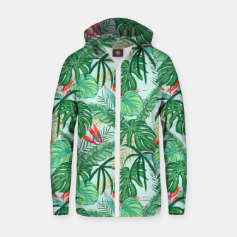 Miniatur The Tropics III Zip up hoodie, Live Heroes