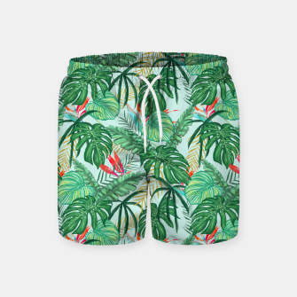 Miniatur The Tropics III Swim Shorts, Live Heroes