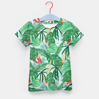 Miniatur The Tropics III Kid's t-shirt, Live Heroes