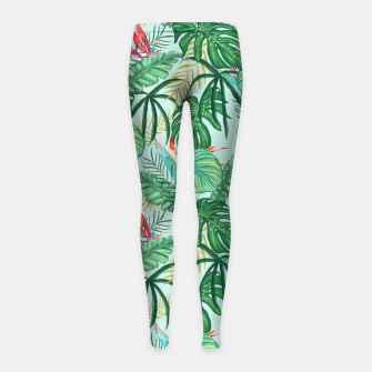 Miniatur The Tropics III Girl's leggings, Live Heroes