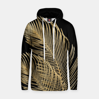 Miniaturka Palm Leaves Finesse Line Art with Gold Foil #1 #minimal #decor #art  Kapuzenpullover, Live Heroes