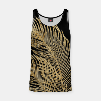 Miniatur Palm Leaves Finesse Line Art with Gold Foil #1 #minimal #decor #art  Muskelshirt , Live Heroes