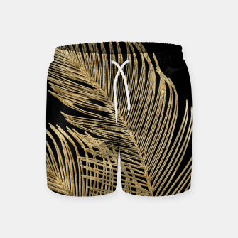 Miniaturka Palm Leaves Finesse Line Art with Gold Foil #1 #minimal #decor #art  Badeshorts, Live Heroes