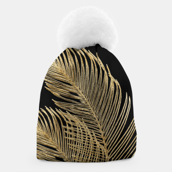 Miniaturka Palm Leaves Finesse Line Art with Gold Foil #1 #minimal #decor #art  Mütze, Live Heroes