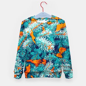 Thumbnail image of Winter Lush Kid's sweater, Live Heroes