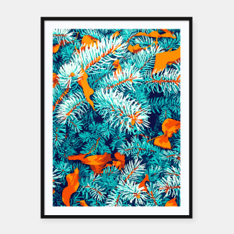 Thumbnail image of Winter Lush Framed poster, Live Heroes