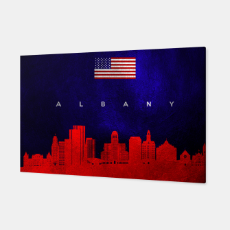 Thumbnail image of Albany New York Skyline Canvas, Live Heroes