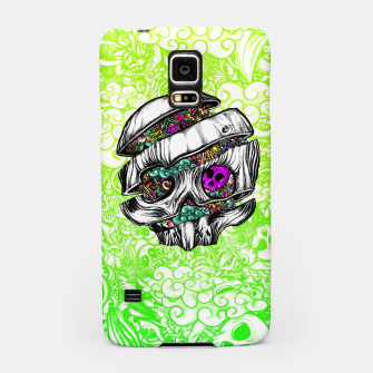 Thumbnail image of Sliced Skull with doodles Samsung Case, Live Heroes
