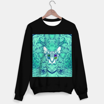 Thumbnail image of Blue Sphynx Eyes Sweater regular, Live Heroes
