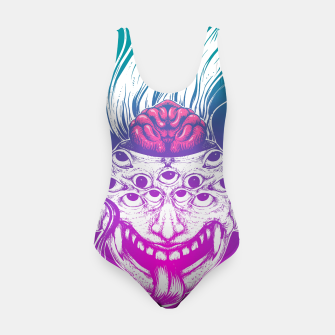 Miniatur Mutant Brain  Swimsuit, Live Heroes