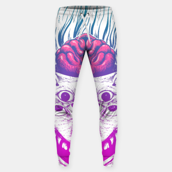 Miniatur Mutant Brain  Sweatpants, Live Heroes