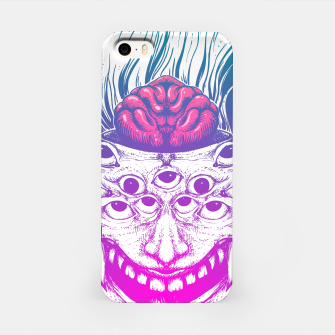 Miniatur Mutant Brain  iPhone Case, Live Heroes
