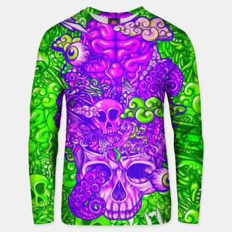 Thumbnail image of Brain Doodle Strong Unisex sweater, Live Heroes