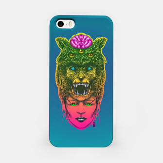 Miniatur  WolfGirl Second gradient iPhone Case, Live Heroes