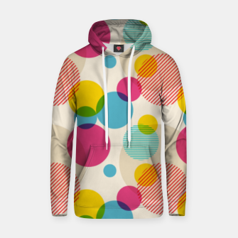 Dots in Yellow, Pink and Blue – Hoodie thumbnail image