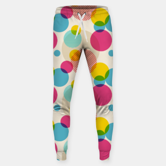 Thumbnail image of Dots in Yellow, Pink and Blue – Sweatpants, Live Heroes