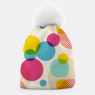 Dots in Yellow, Pink and Blue – Beanie thumbnail image