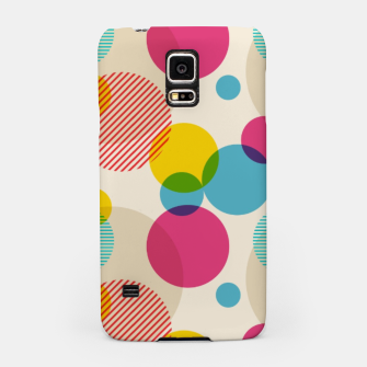 Dots in Yellow, Pink and Blue – Samsung Case thumbnail image