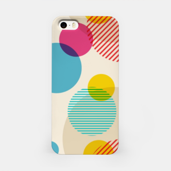 Thumbnail image of Dots in Yellow, Pink and Blue – iPhone Case, Live Heroes