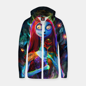 Nightmare Before Christmas. Sally Zip up hoodie obraz miniatury