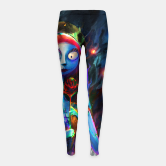 Nightmare Before Christmas. Sally Girl's leggings obraz miniatury