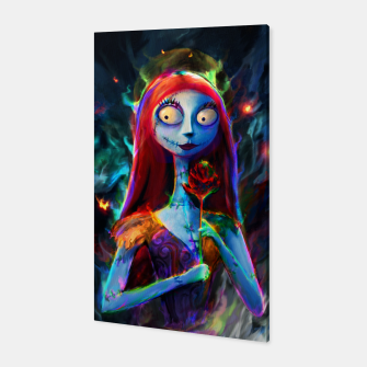 Nightmare Before Christmas. Sally Canvas obraz miniatury
