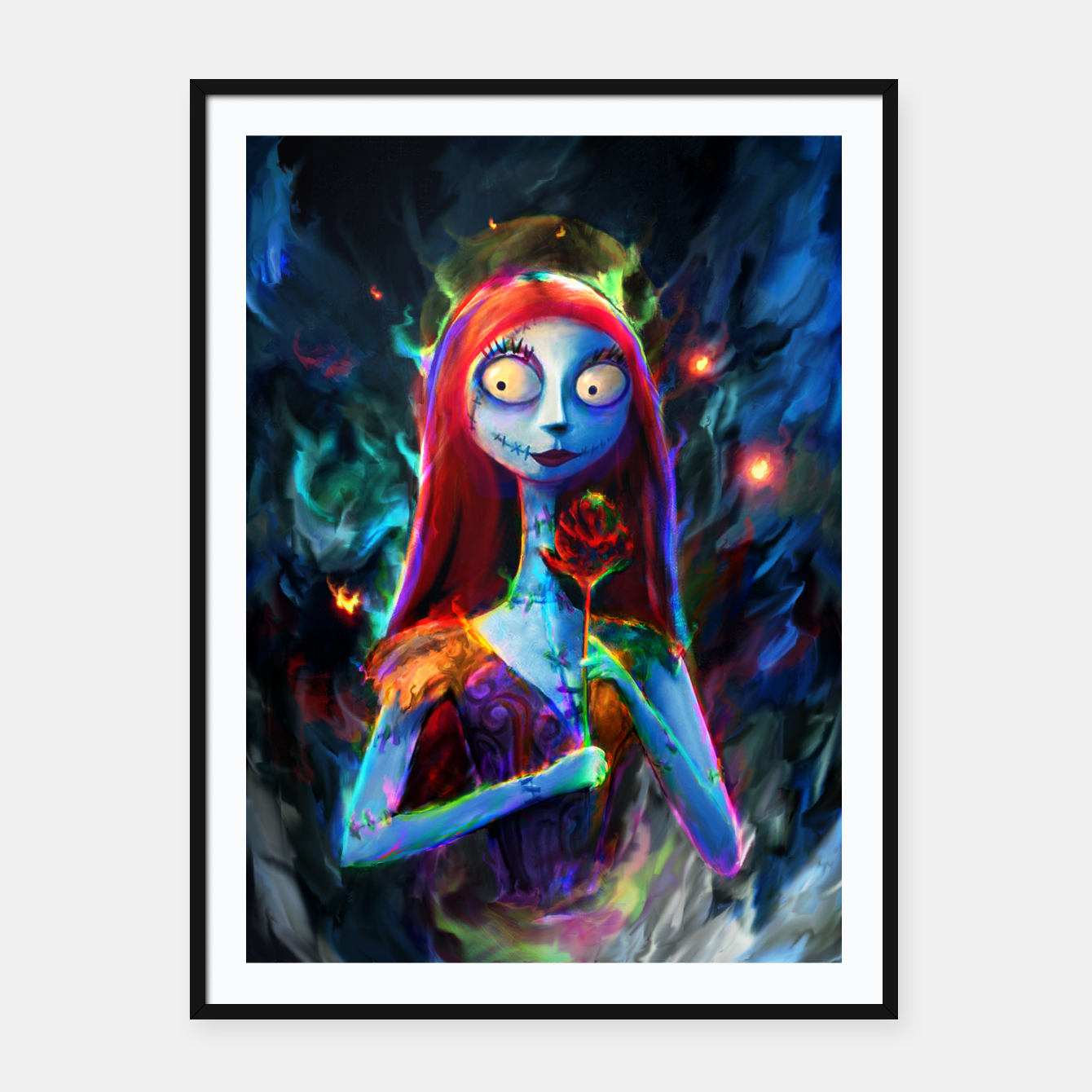 Zdjęcie  Nightmare Before Christmas. Sally Framed poster - Live Heroes