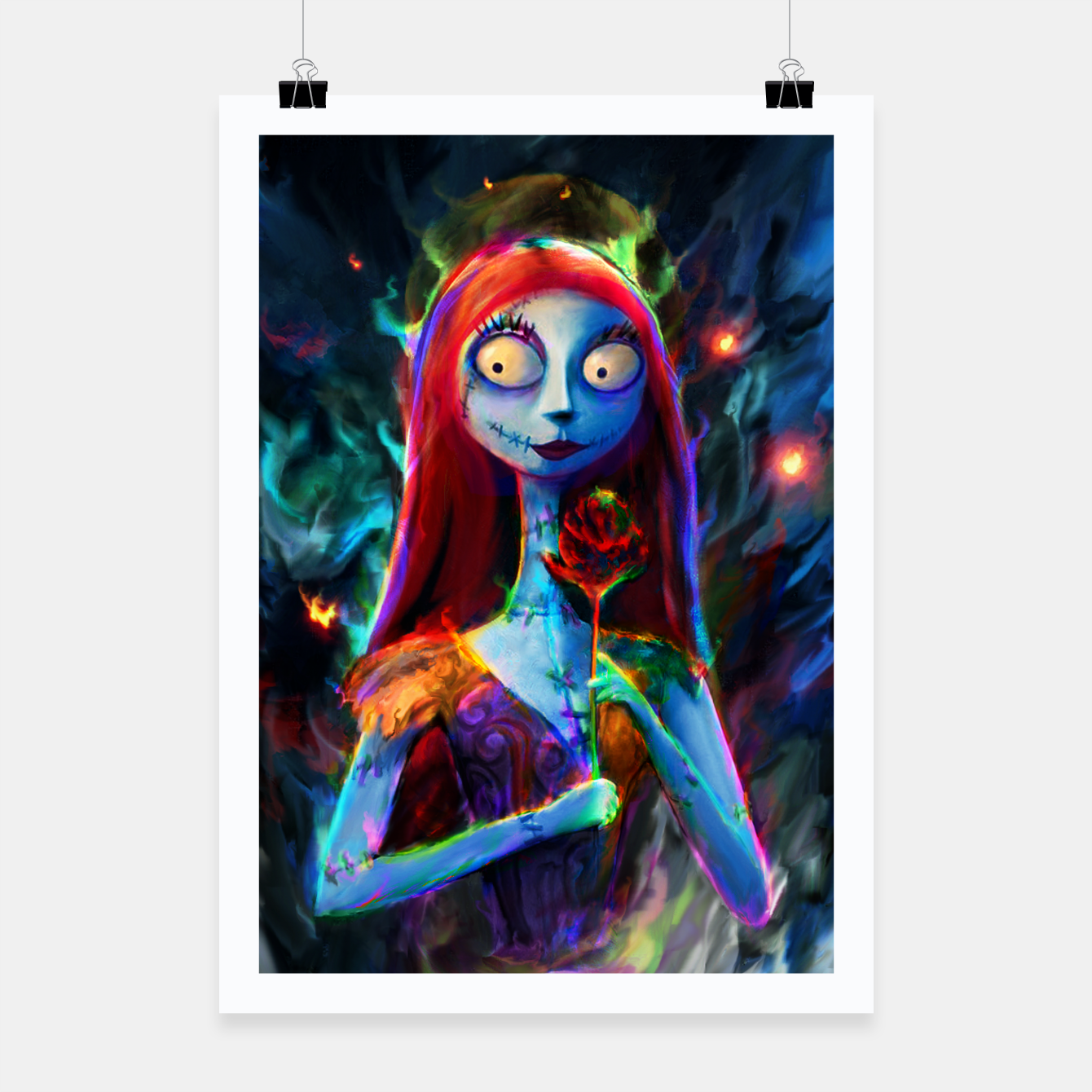 Image of  Nightmare Before Christmas. Sally Poster - Live Heroes